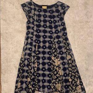 Anthropologie patterned dress!